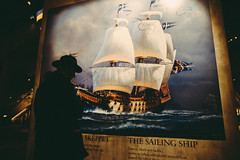 But we can always hope (Sator Arepo) Tags: man hat mystery museum canon sailing ship stockholm coat