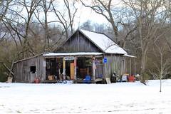 IMG_8159 (justis.kivari) Tags: county winter snow canon lawrence tn barns sheds t1i