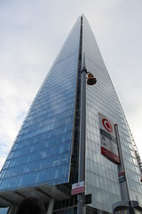 The Shard & Bus Stop (Snappy Pete) Tags: uk greatbritain england london glass architecture buildings londonbridge skyscrapers landmarks busstop southwark offices theborough southeastlondon theshard