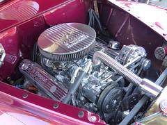 1941 Plymouth/MOPAR 340 (bballchico) Tags: 1941 plymouth businesscoupe custom kustom blackirishrose mikecoughlin shirleycoughlin westseattlecarshow engine 206 washingtonstate