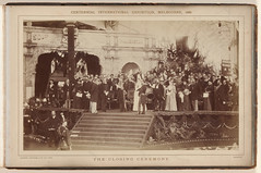 Centennial International Exhibition Melbourne 1888 - The Closing Cermeony. (State Records NSW) Tags: blackandwhite ceremony archives newsouthwales staterecordsnsw