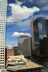 Cloud Convergence Downtown Denver (zeesstof) Tags: city travel tourism architecture colorado denver timeoff businesspleasure zeesstof