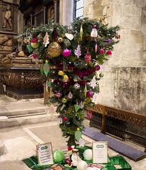 Happy Christmas. 14 (aerial2) Tags: festive upsidedown christmastree specsavers topsy turvy