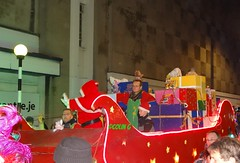 Santa arrives (Coco the Jerzee Busman) Tags: new york uk paris bus car islands coach views jersey van channel funchal