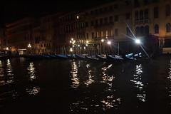 Venice at Night (haidarism (Ahmed Alhaidari)) Tags: venice light italy tourism night parkinglot gondola
