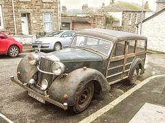 1947 ALVIS TA14. (RUSTDREAMER.) Tags: cornwall estate woody alvis 1947 ta14 rustdreamer