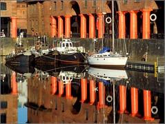 Liverpool 3rd December 2014 (Cassini2008) Tags: liverpool reflections albertdock