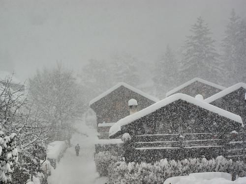 Vercorin sous la neige 2