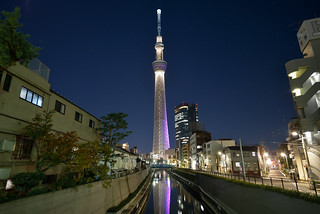 Midnight Tokyo Skytree (消灯ギリギリの東京スカイツリー)