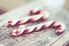 sweet <3 (focusonwhatmatters) Tags: christmas red two white holiday cane canon vintage photography dof candy sweet candycane greeting traditon 2470