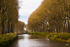 Canal in Belgium near Damme (doveoggi) Tags: autumn trees water canal belgium damme 8906