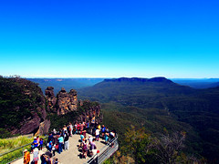 The Three Sisters - Blue Mountains (Zoly's Wonderlands) Tags: blue mountains sisters three sydney australia