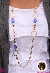 Glimpse of Malibu Blue Necklace K2A P2720A-1