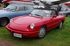 1992 Alfa Romeo Spider (2000cc) (Graham Woodward) Tags: alfaromeo brooklands2015newyearsdaygathering