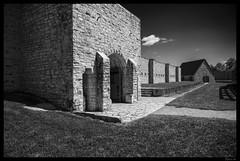 Fort de Chartres Entrance - Interior View (Nikon66) Tags: french illinois nikon fort d800 fortdechartres randolphcounty prairiedurocher ©copyright
