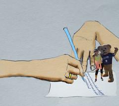 2014 Hands Story writing Stiches n Jenni (Robin Hutton) Tags: charity writing artwork hands jenni walk australia perth western hutton stiches robinhuttonart