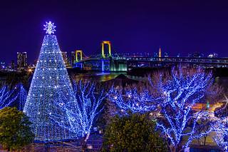 Merry Christmas from Odaiba, Tokyo