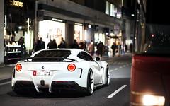 N-Largo. (Alex Penfold) Tags: white london cars alex car n super ferrari arab autos abu dhabi largo supercar supercars f12 171 penfold 2014 novitec nlargo