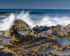 Crystal Cove - 6171 (www.karltonhuberphotography.com) Tags: ocean california seascape motion beach nature horizontal landscape outdoors energy rocks waves power action horizon shoreline wideangle spray crystalcove pacificocean shore southerncalifornia orangecounty splash naturalworld theoc crashing seafoam naturephotography shorebreak crystalcovestatepark southcounty 2015 landscapephotography silkywater nikkor1735mm nikond7000 karltonhuber