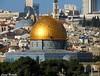 Cúpula dourada - Jerusalém 2014
