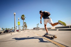 Venice Beach. (PeeterTomson) Tags: life california travel venice friends summer beach los angeles good explore enjoy skateboard fujifilm 12mm xa1 rokinon