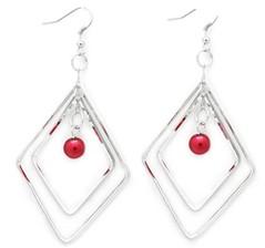 Sunset Sightings Red Earrings P5920-4