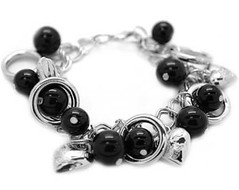 5th Avenue Black Bracelet P9112-4-1