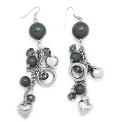 5th Avenue Silver Earrings P5220-5