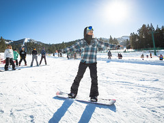 Snowboarding Learn to Ski & Ride Month at Bear Mountain
