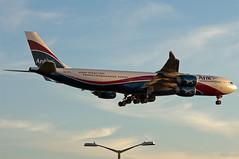 CS-TFX Arik Air A340-500 Heathrow (rmk2112rmk) Tags: plane airport heathrow aircraft aviation air airbus airbusa340 airliner lhr a340 airliners arik londonheathrow egll hifly civilaviation a340500 arikair cstfx
