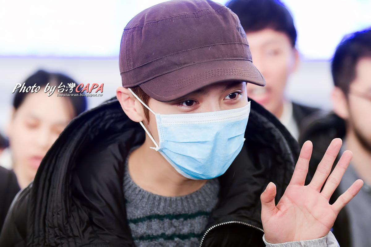 [FANTAKEN] 150117 Beijing Airport to Taiwan Taoyuan Airport [12P] 16299835705_a308a52cff_o
