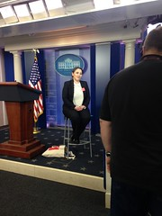 Nicole Hernandez Hammer at the White House