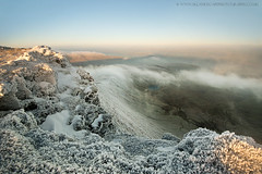 view from Corn Du (sandra_kepkowska) Tags: park winter lake wales corn frost december sandra path walk south du national brecon beacons powys fotosandra kepkowska