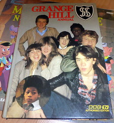 Grange Hill Anual (Richie Wisbey) Tags: justin green alan big mr trish hill bbc kathy benny annual tucker grange yates jenkins sutcliffe authorised
