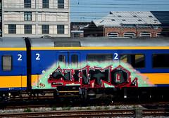 traingraffiti (wojofoto) Tags: holland graffiti nederland netherland traingraffiti wolfgangjosten wojofoto treingraffiti