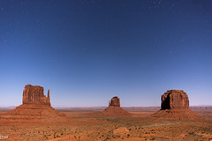 Stars at Monument Valley (MikeWeinhold) Tags: stars astrophotography monumentvalley navajotribalpark