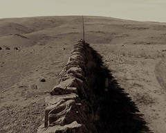 Straight lines (Light's_[di]vision) Tags: stone mt phil ranges walls northern grasslands lofty bagust