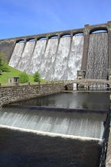 Claerwen Dam, Elan Valley, Wales. (Seckington Images) Tags: wales flickr elan