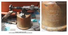 La lampe  souder de mon pre . (Chti-breton) Tags: essence cuivre