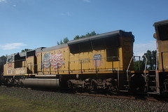53471 (richiekennedy56) Tags: usa lawrence unitedstates kansas unionpacific sd70m railphotos up3887 douglascountyks up5145 donballcurve