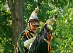 May 21: Napoleon Cavalry Commander (johan.pipet) Tags: old people green history canon war europe flickr eu sunny battle napoleon historical slovensko slovakia moment chevalier palo bratislava cavalry horseman petralka petrzalka barto