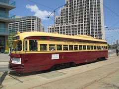 CA: Toronto - PCC - Harbourfront - 2016 (TheTrolleyPole) Tags: toronto tram harbourfront streetcar tramway 509 strasenbahn