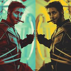 174 | 366 | V (Randomographer) Tags: people man art digital comics photo costume comic cosplay character denver human xmen 365 logan marvel processed con claws counterculture wolverine 174 subculture 2016 adamantium project366