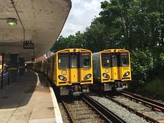 508127/134 New Brighton 24/6/16 (Fav77) Tags: liverpool newbrighton merseyrail 508127 class508 508134 2n38