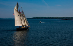 Sailing, Casco Bay, Portland ME (bdnils) Tags: maine seascape portlandme yachting yacht sailing