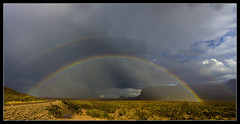"""The """"Monsoons"""" are Here! (AnEyeForTexas) Tags: rainbow storms doublerainbow bigbendnationalpark"""