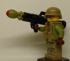 XM29 Tactical Mini-Nuke Launcher (with new Mini-Nuke prototype) (enigmabadger) Tags: brickarms lego custom minifig minifigure fig weapon weapons accessory accessories combat war prototype proto nuke nuclear device davy crockett atomic scifi sciencefiction trooper soldier fallout fatman
