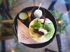 - Green tea Bingsu (schanikarn) Tags: desserts korean greentea bingsu koreandessert