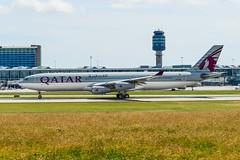 CYVR - Qatar Amiri Flight A340-313 A7-AAH (CKwok Photography) Tags: yvr cyvr qatar amiriflight a340