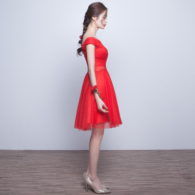 Toast clothing brides 2016 new Korean words shoulder-knot